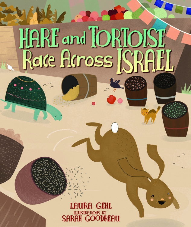 Hare & Tortoise Race Across Israel-1